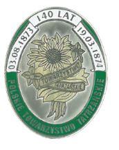 Odznaka 140 lat PTT