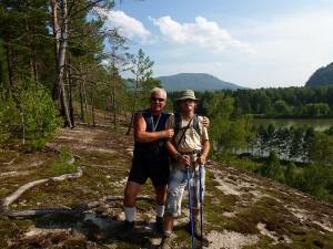 B. Nowak i R. Partyka gdzieś w sercu Syberii