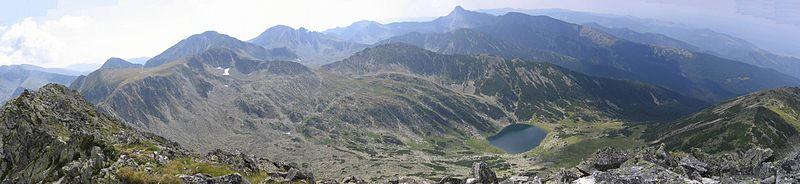 Retezat - widok z Varful Mare (fot. Wikipedia)