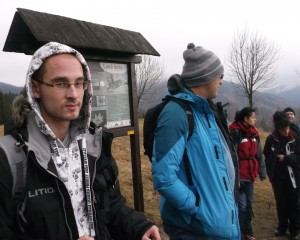 Krzysiek i Marcin na podejściu