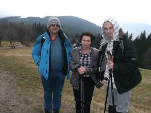 Od lewej: Marcin, Asia, Krzysztof.