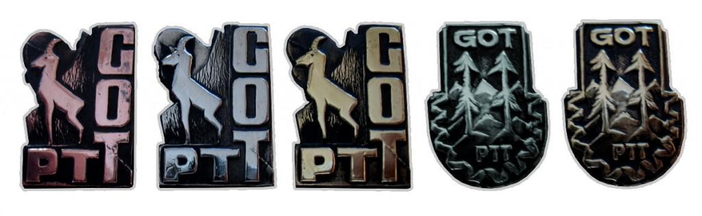 Odznaki GOT PTT