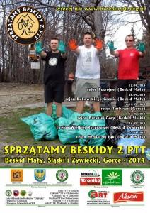 sprzatamy-beskidy-2014 - plakat