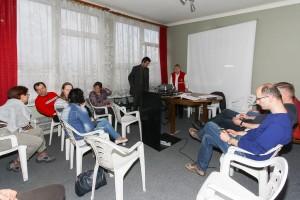 Walne 2014 - Nikodem Frodyma przewodniczy obradom (fot. M. Kolonko)