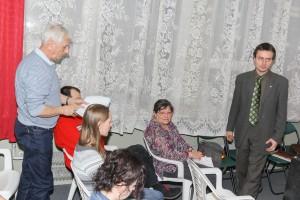 Walne 2014 - Ludwik Rogowski zgłasza wniosek o ansolutorium dla ustepujacych władz (fot. M. Kolonko)