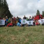 Sprzątamy Beskidy 2014 na Potrójnej