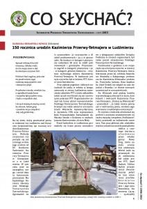 """Strona tytułowa nowego numeru """"CS"""" 2(289) / 2015"""