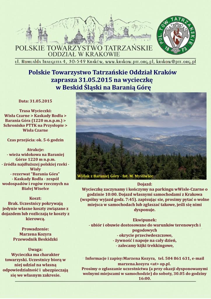 Plakat Barania Góra