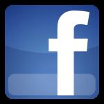Logo portalu społecznościwoego Facebook.