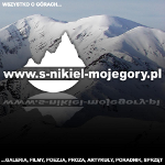 Logo i adres strony internetowej Sebastiana Nikla.
