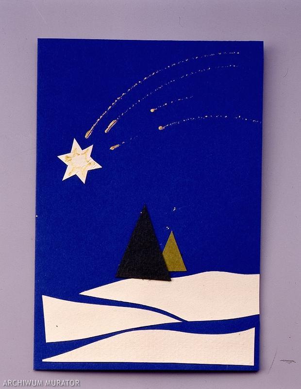 jak_samodzielnie_zrobic_kartke_w_174686Kartka świąteczna - prawie jak na Plutonie. Fot. Piotr Mastelarz, murator.