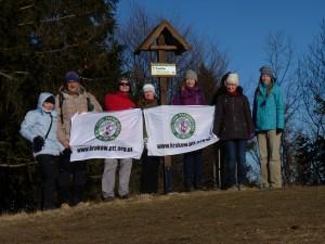 I 2 stycznia na Ćwilinie, tym razem wyszło nas ośmioro.