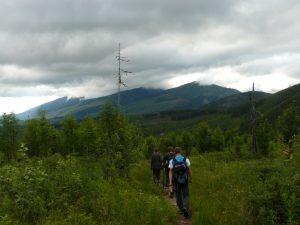 Spojrzenie na Tatry Zachodnie
