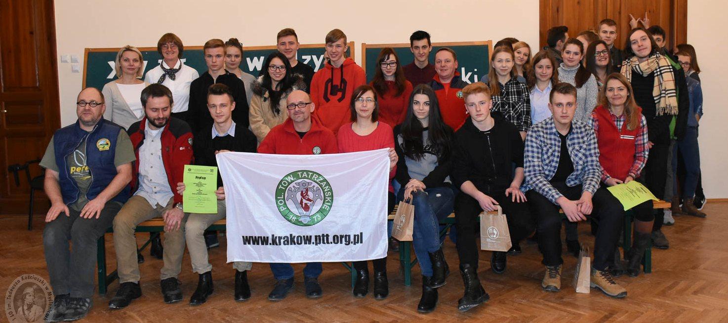Zbiorowe zdjęcie wszystkich Uczestników i Organizatorów konkursu.